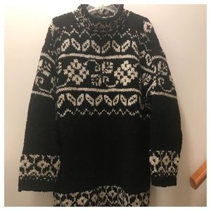 🎄SALE🎄Vintage knitted wool sweater. EUC Med